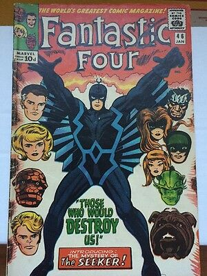 Fantastic Four #46 VG+ (4.5) - First Appearance Of Black Bolt