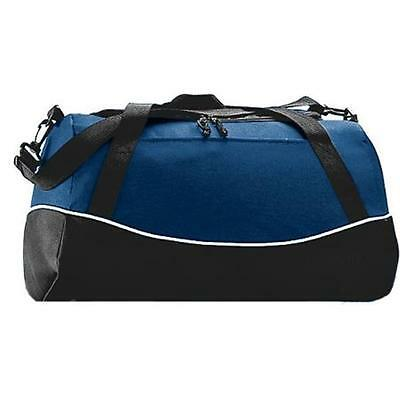 Augusta 1910A Tri-Color Sport Bag, Navy All