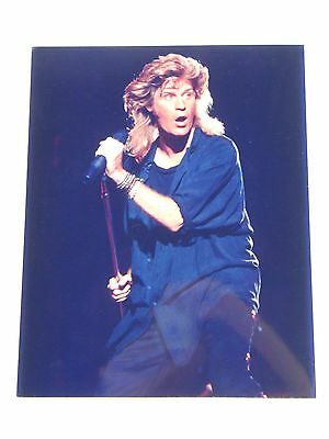 8x10 Color Concert Photo of Daryl Hall from Hall & Oates