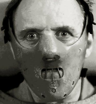 Brilliant Hannibal Lecter (Anthony Hopkins) Paint By Number Art Kit