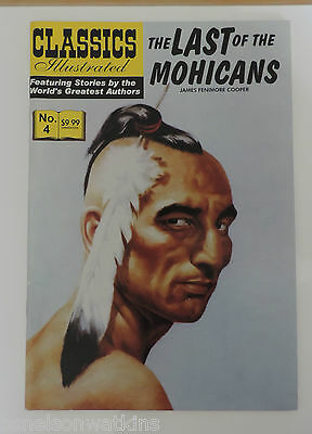 Classics Illustrated The Last Of The Mohicans #4 (2007)