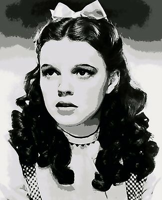 Gorgeous Judy Garland / Dorothy Paint By Number Art Kit