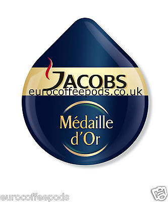 24 x Tassimo Jacobs Medaille Dor Coffee T-disc (Sold Loose)