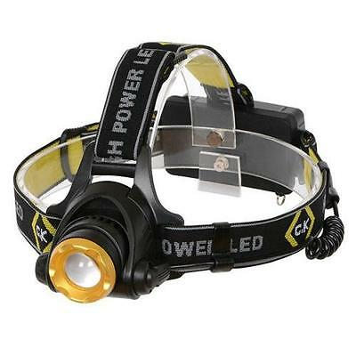 CK C.K Rechargable Led Head Torch Light 200 Lumens 3 Modes Headtorch T9620R