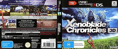 Xenoblade Chronicles 3D 3DS PAL AUS *NEW*! + Warranty!!