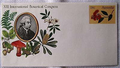 1981 Australia, Botanical Congress & World Heritage, prestamped envelopes