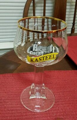 New Single Kasteel Belgian Ale Chalice/Goblet Beer Glass 0.25L