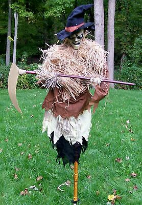 Brand New Animated Harvester The Evil Scarecrow Halloween Prop