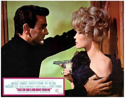 Kiss the Girls and Make Them Die (1966) 16mm Sound Feature Film IB Technicolor