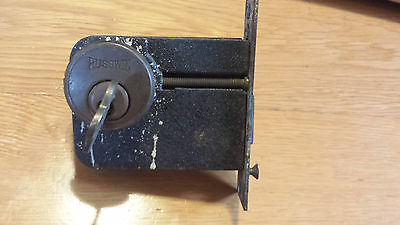 Vintage Russwin Door Lock Antique Complete with Key
