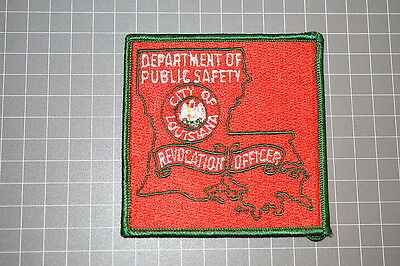 Old City Of Louisiana Department OF Public Safety Revocation Officer Patch (T3)