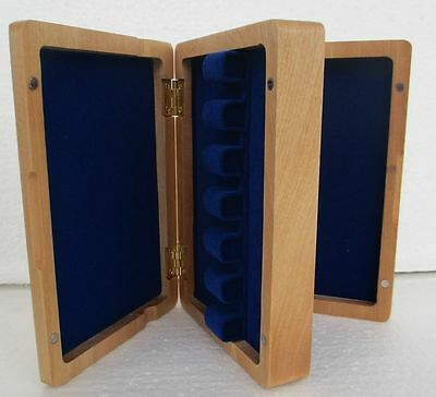 Excellent Wooden Bassoon reeds case hold 12 pcs reeds Strong box