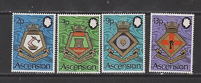 Ascension Island 1973 Naval Arms Set Mint NH