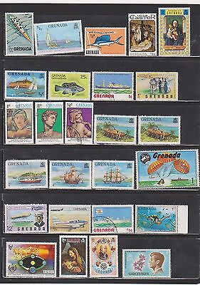 Grenada Mostly mint collection of Modern Stamps