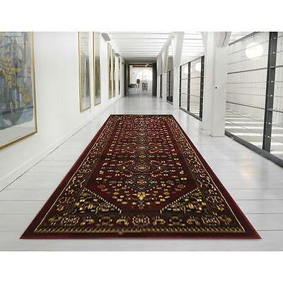Hall Runner Rug Premium Patterned Designer 500cm Long FREE DELIVERY