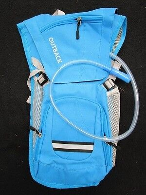 2L Blue Hydration Backpack Hiking Camping Bushwalk Day Pack
