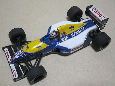 William Renault FW14 No,5 Nigel Mansell mini car made by Onyx 1/24 scale