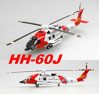 Easy Model 1/72 HH-60J JAYHAWK Helicopter Plastic Model #36925