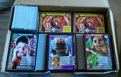 Doctor Who. Monster Invasion Extreme. Bulk: 100 assorted base cards.