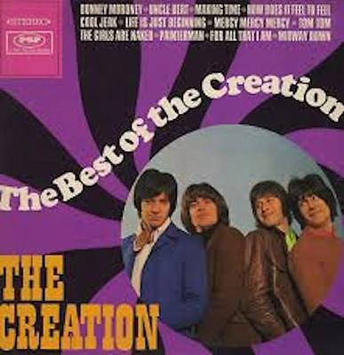 Best Of The Creation NEW VINYL LP MOD PSYCHE
