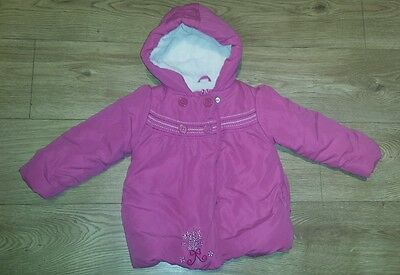 Mothercare Girl's Coat size 2-3 years. Beautiful warm coat in good condition.