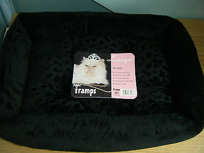 Tramps Cat Bed Faux Suede Brand New With Tags - Machine Washable
