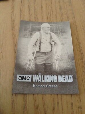 The Walking Dead Season 4 Part 2 Silver foil parallel Character card C06 (72/99)
