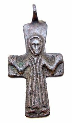 Byzantine Bronze Cross, ca. 9th-12th century AD