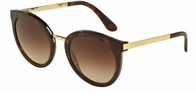 Genuine Dolce & Gabbana 4268F- Replacement Sunglasses Lenses - Gradient Brown