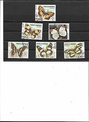 Mocambique #  668-673,  Cto  Stamps Beautiful Coloring