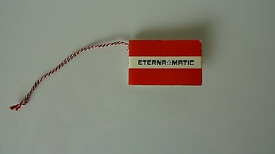 Eterna manual booklet excellent condition