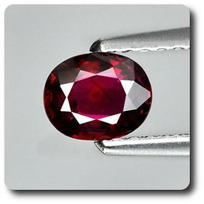 RUBY Red. 0.57 cts. NON HEATING Mozambique, Africa. With Certificate