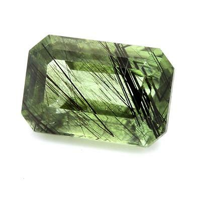 PERIDOT RUTIL 4.20 cts. VS. Pakistan