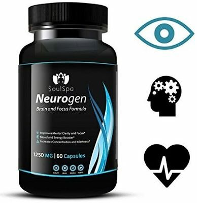 Nootropic Brain Supplement Memory And Energy Booster (60 Count)