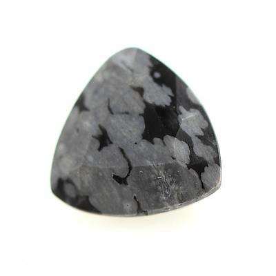 OBSIDIAN FLAKE SNOW . 1.96 cts . Africa