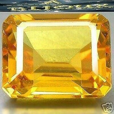 2.95 Cts. Superb Citrine Yellow. Hydrothermal