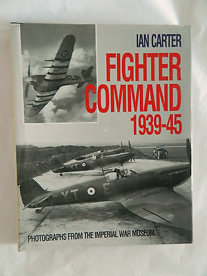 Fighter Command 1939-45 Book Ian Carter Signed 20 RAF Fighter Pilots of WW2
