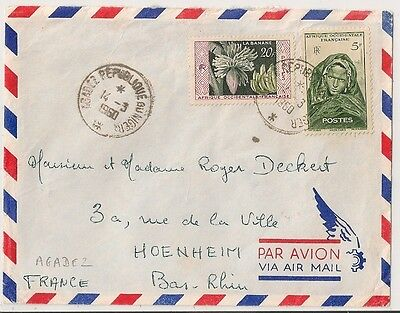 Cover Agadez Niger To France. L352