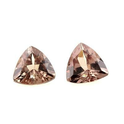 GARNET COLOR CHANGING 0.81 cts. 2 pieces IF. Sri Lanka