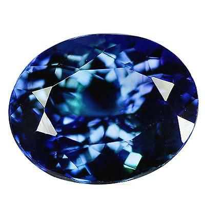 TANZANITE BLUE 5.20 cts. IF. Tanzania, Africa. With Certificate of authenticity