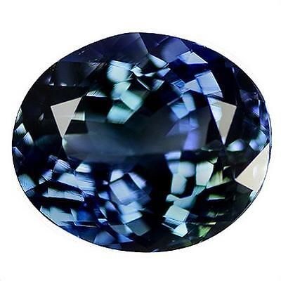 TANZANITE BLUE . 3.98 cts . IF . Tanzania, Africa. With Certificate
