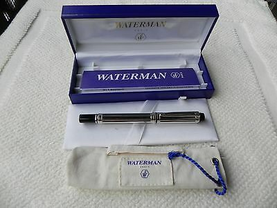 PENNA STILOGRAFICA WATERMAN LE MAN 200 NIGHT&DAY SILVER 18K Fountain Pen STYLO