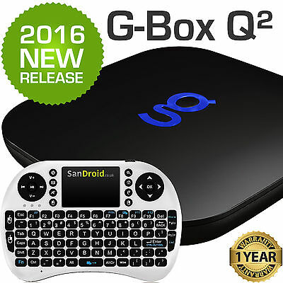 Matricom G-Box Q2 & Keyboard! Kodi Android 5.1 TV Box Gbox Q 2 - Fully Loaded