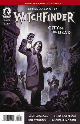 Witchfinder : City of the Dead #1