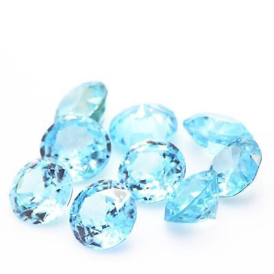 Zircon blue . Round . IF - VVS sold by unit / individually ). Cambodia