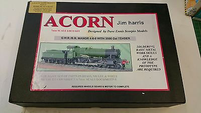 New Brass O Guage Model Loco Kit GWR Manor Complete Kit - Unassembled