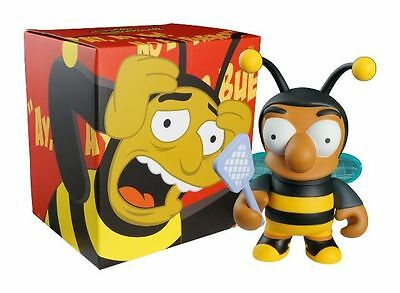 "THE SIMPSONS - Bumblebee Man 6"" Vinyl Figure (Kidrobot) #NEW"