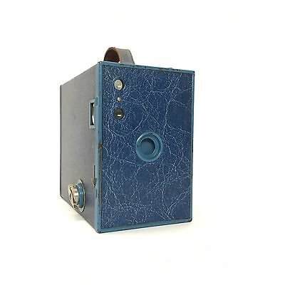 Kodak Blue Box Brownie Camera 120 Rare Great Condition Collectable Medium Format
