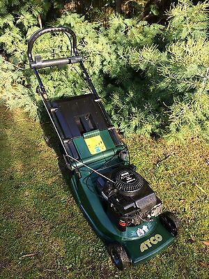 ATCO 16s Self Propelled Petrol Lawn Mower with Roller