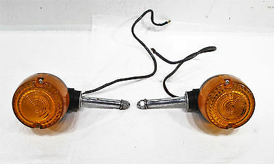 1985 79-87 Yamaha QT50 Yamahopper OEM Left Right Front Turn Signals Blinkers